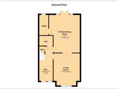 Ground Floor, Floor Plan